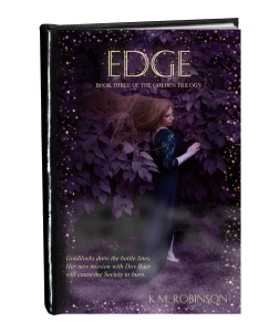 Edge cover in book form