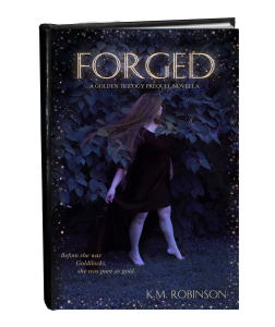 Forged FINAL cover in book form with shine