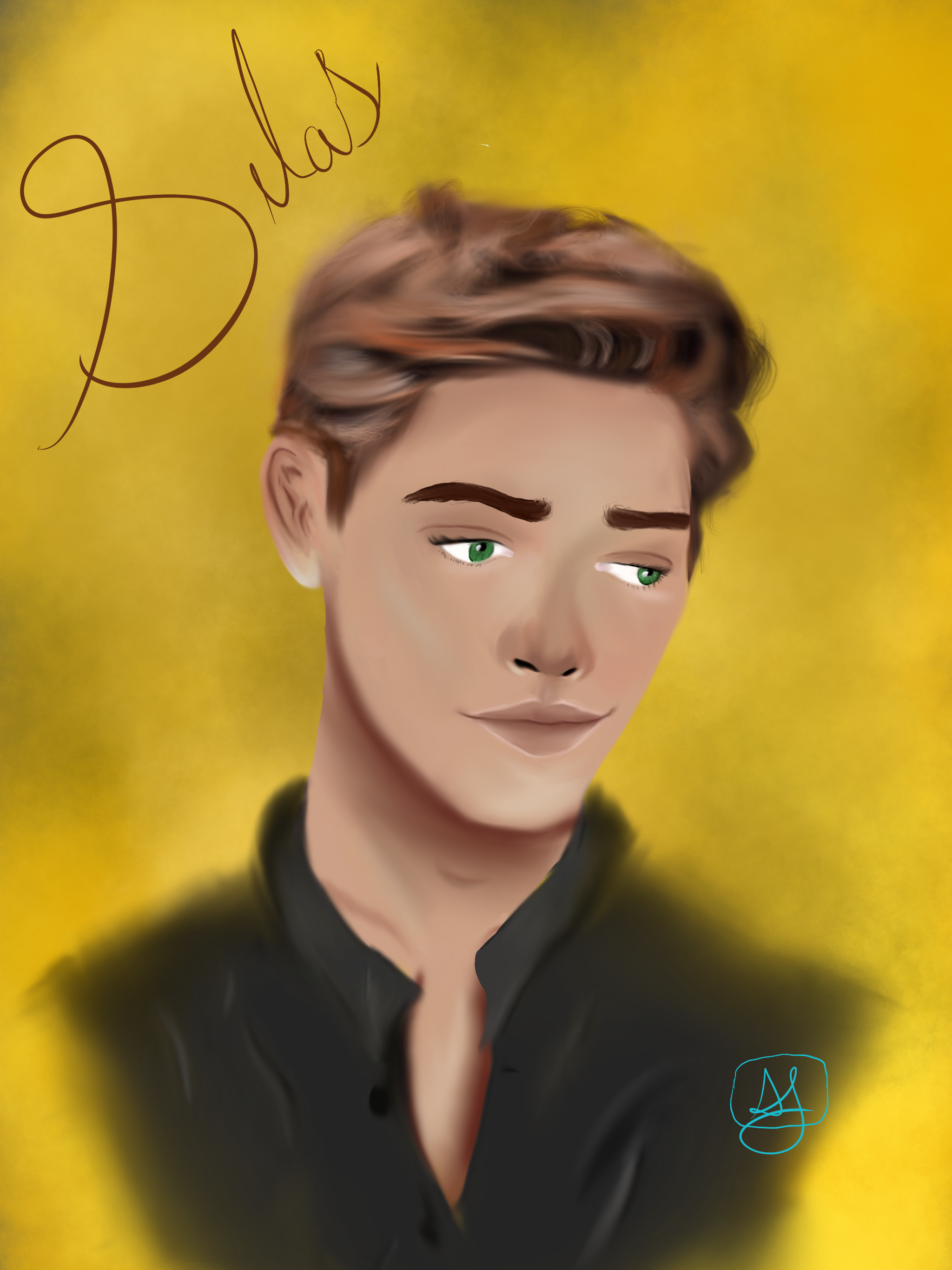Silas from Golden by K.M. Robinson