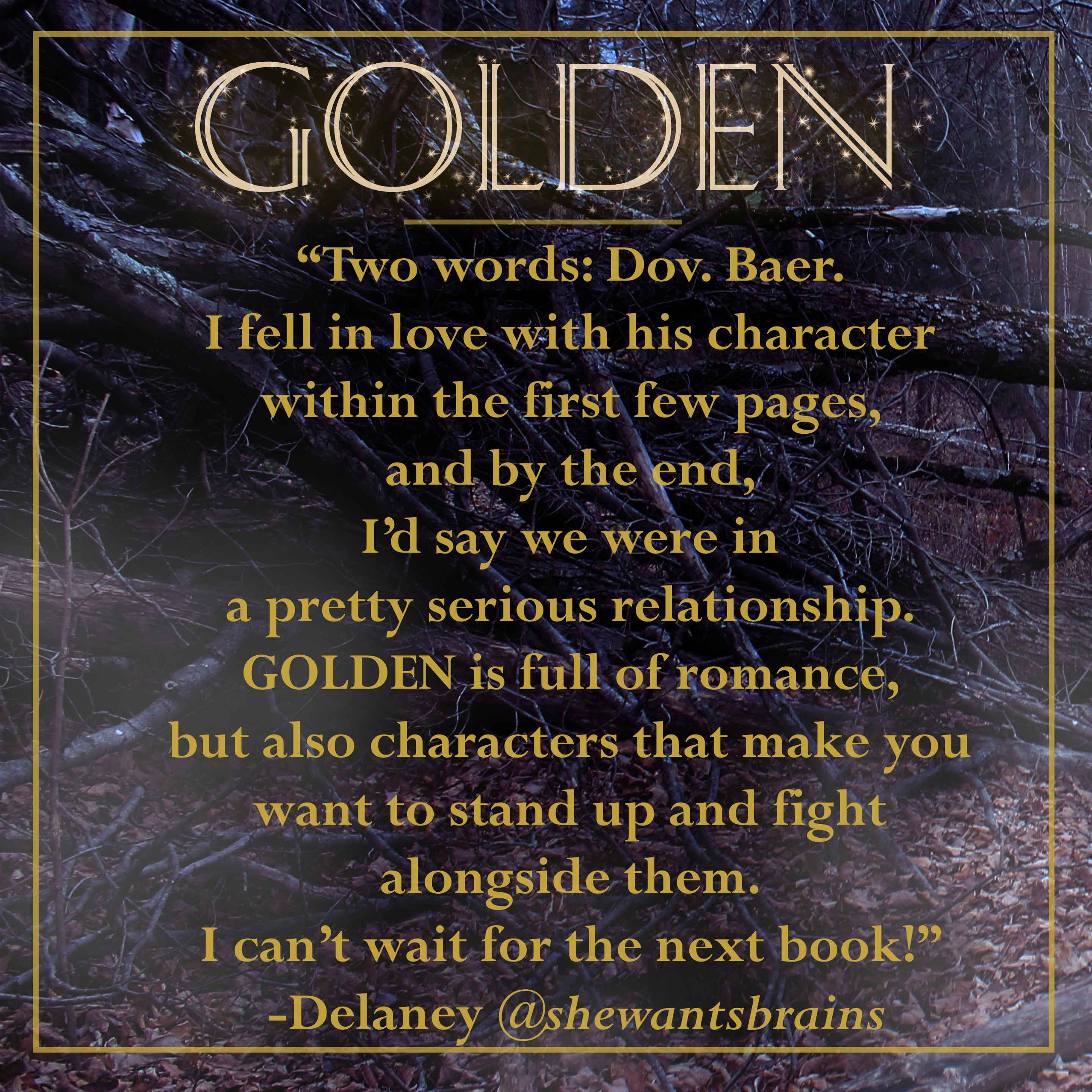 golden fan quote-delany
