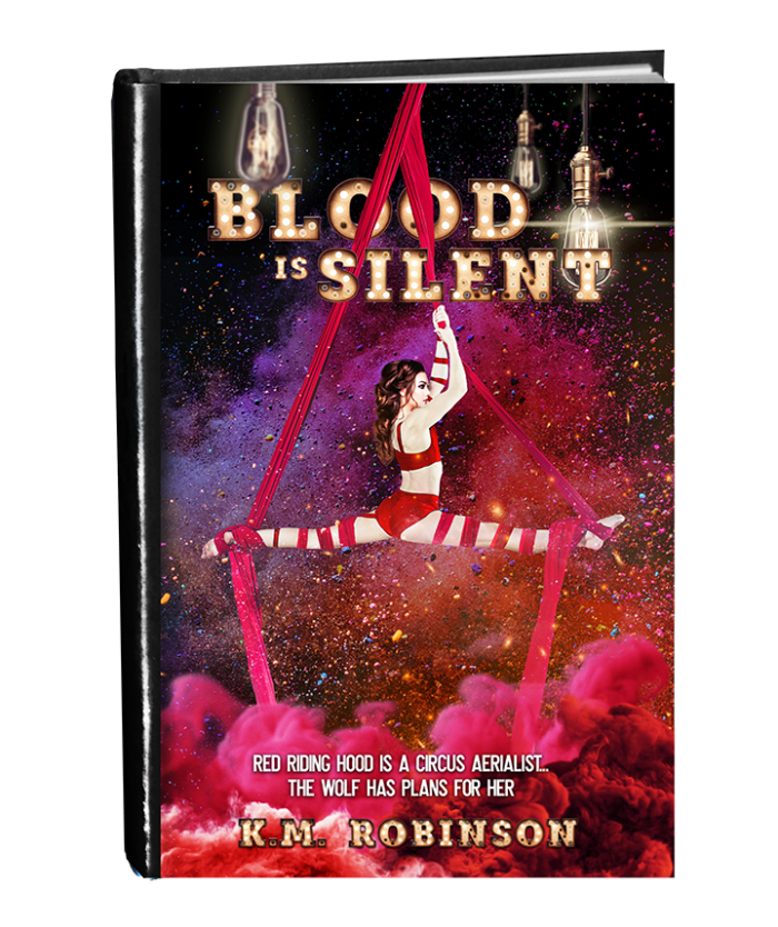 Blood Is Silent in book form small