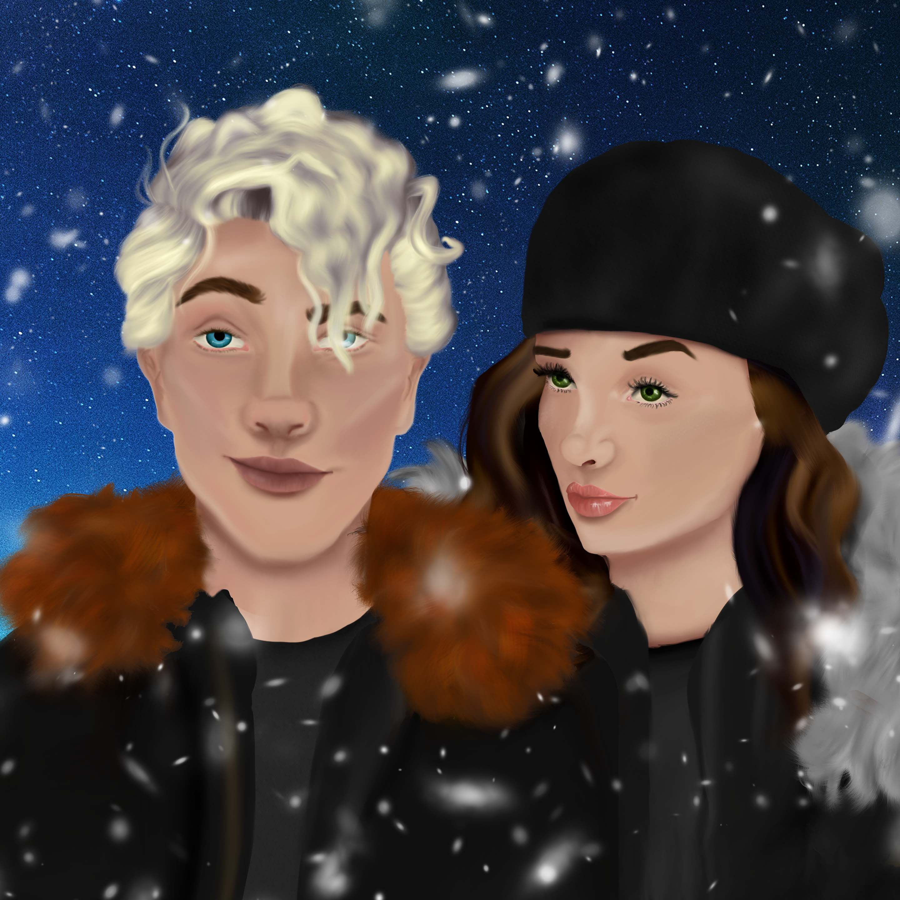 Jack and Gen 2 sky and snow