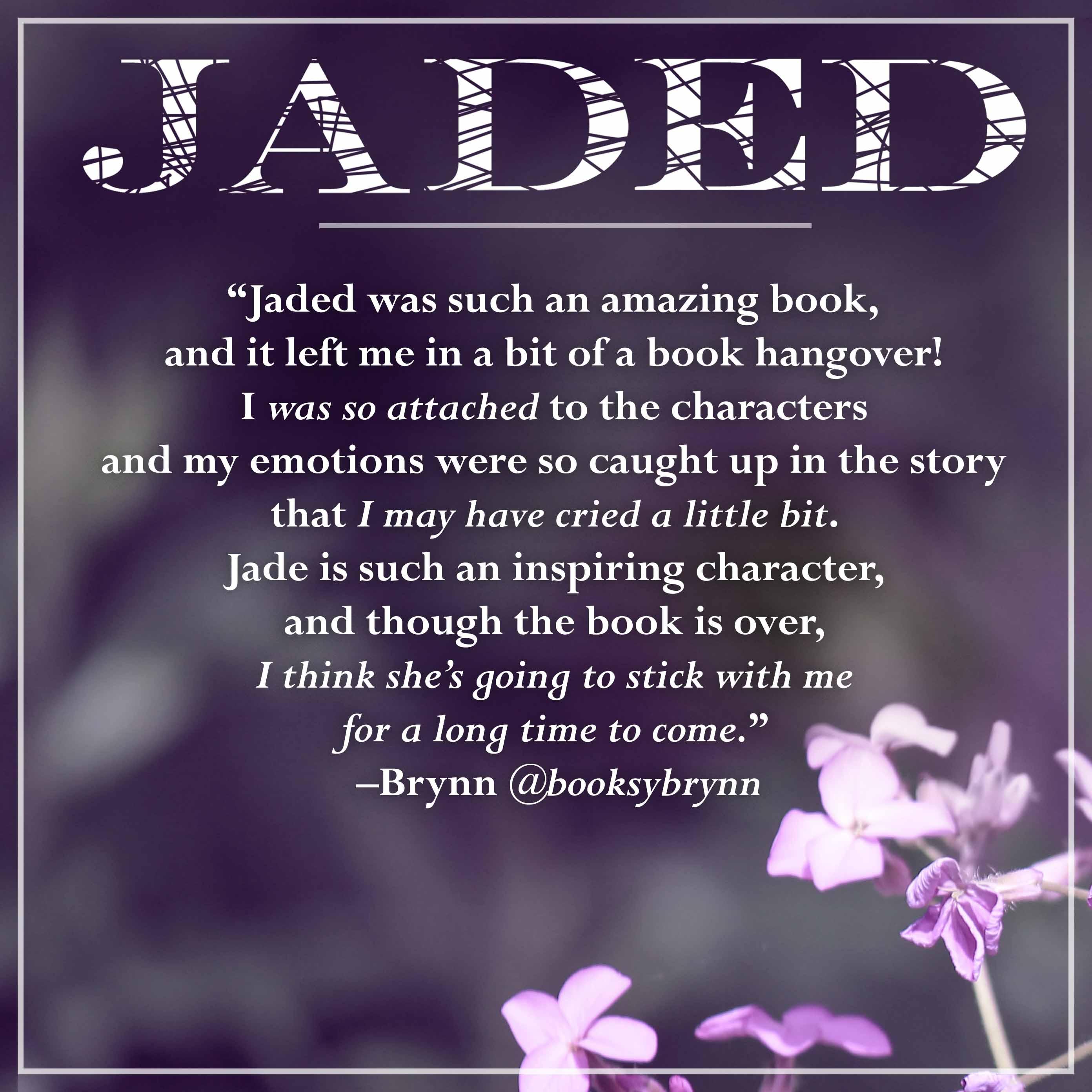 jaded fan quote-brynn