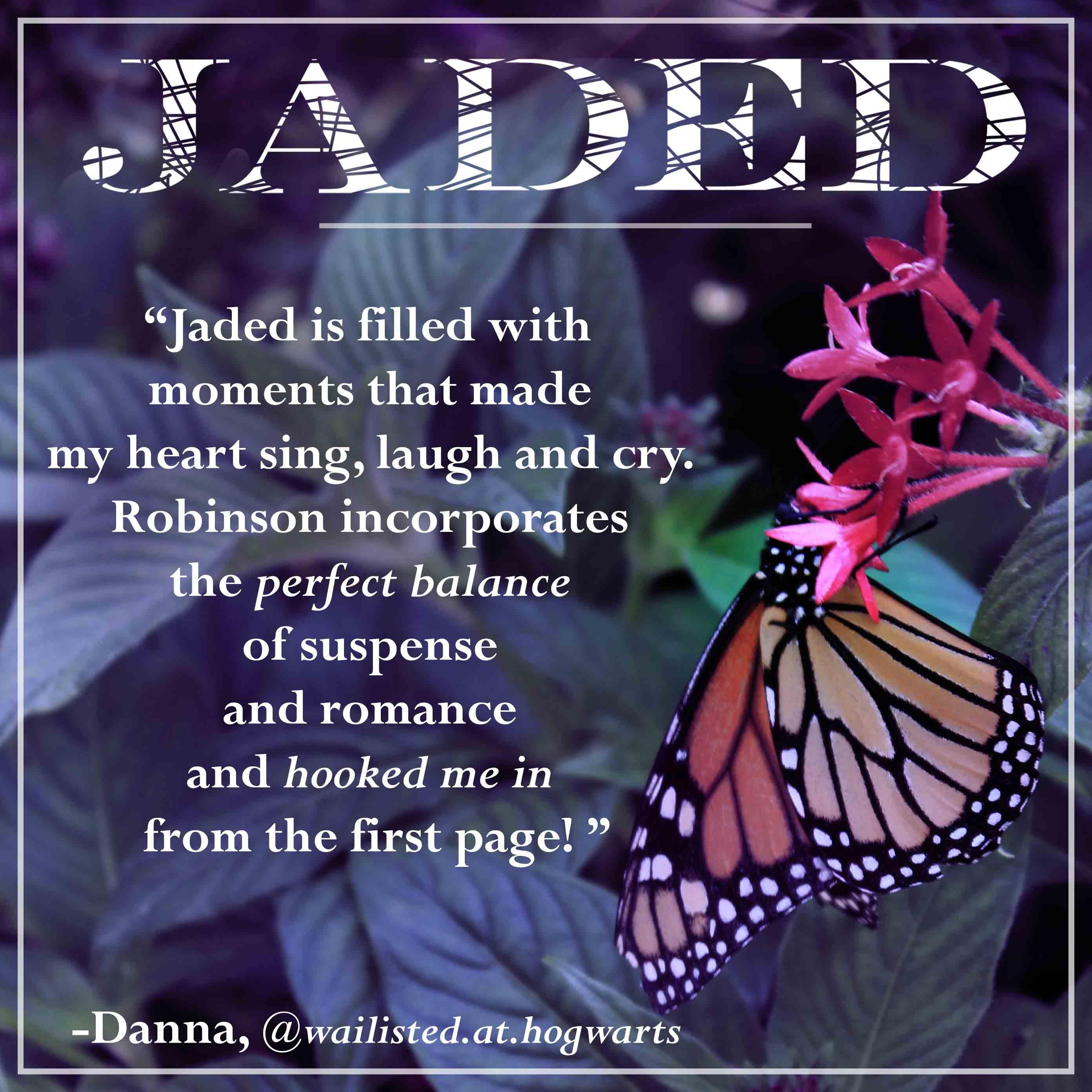 jaded fan quote-danna