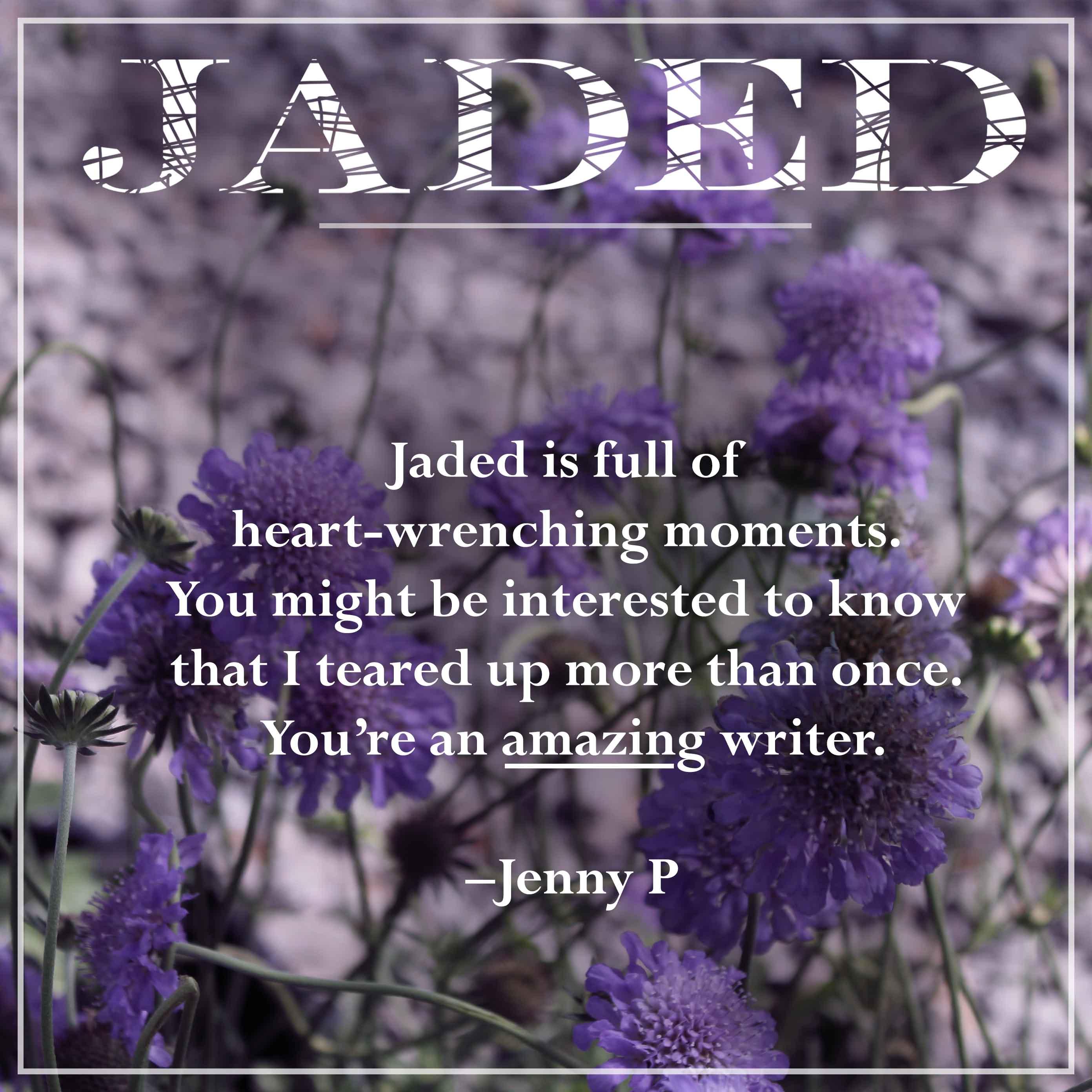 jaded fan quote-jenny