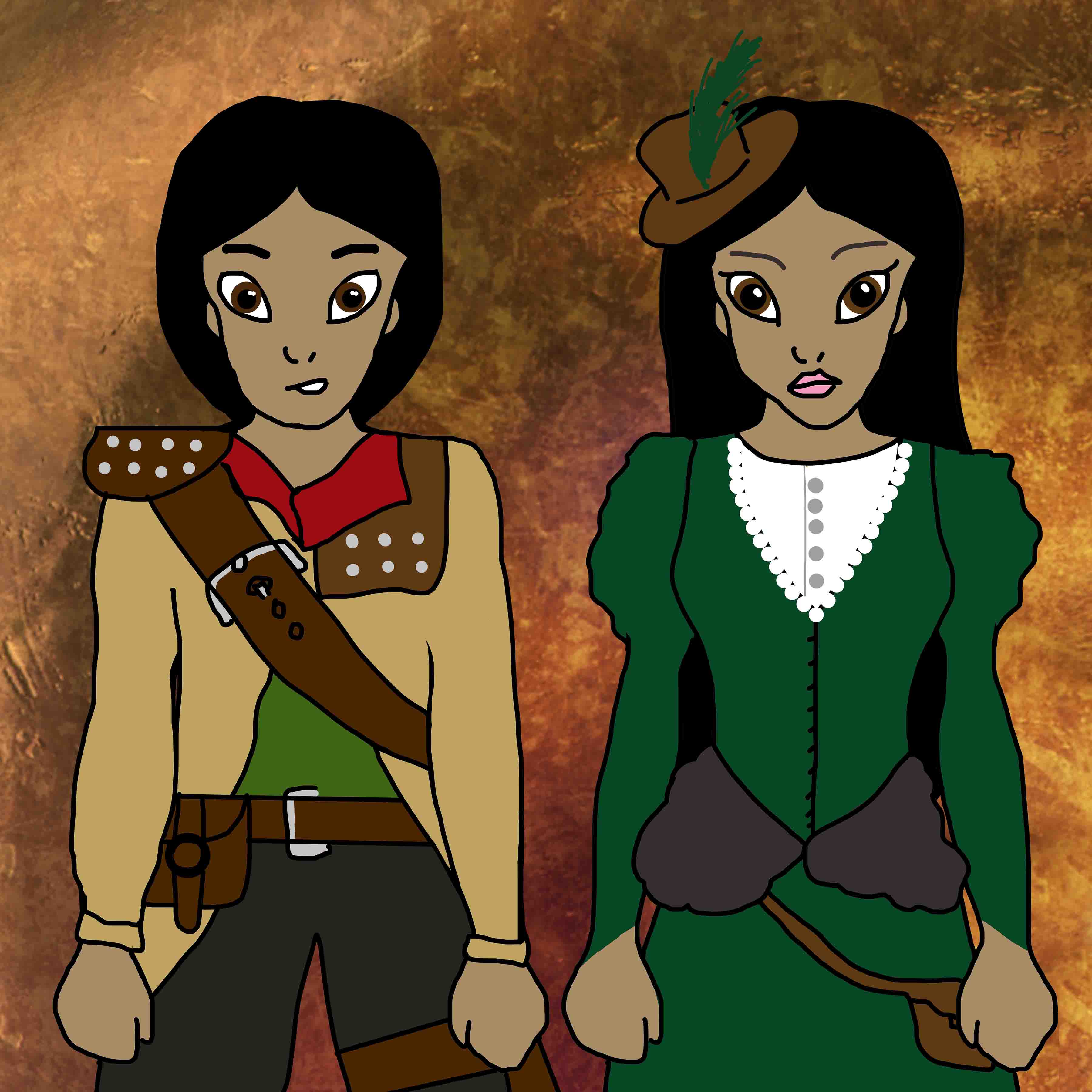 Aladdin and Cyra (Stealinig Steam Series) small
